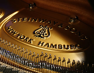 Brand New Steinway Model M Grand Piano for sale.