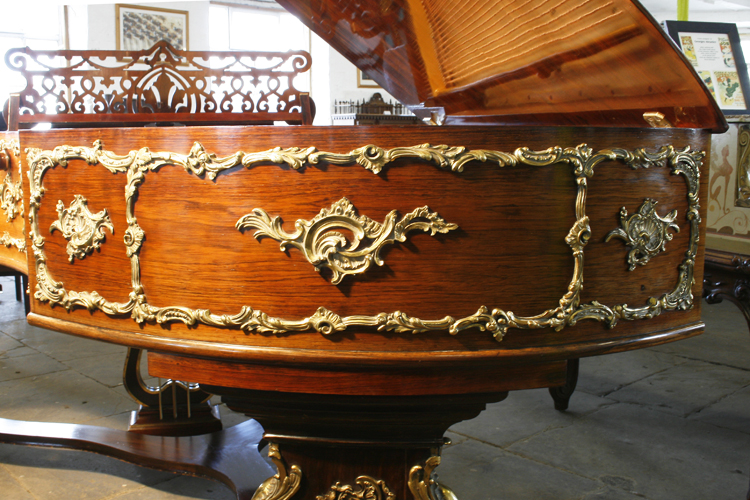 Image result for rococo antique grand pianos
