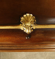 Ornate, Bechstein  Upright Piano for sale.