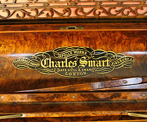 Charles Smart Upright Piano for sale.
