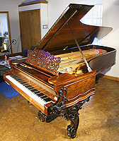 Antique, Rosewood Steinway Concert Grand Piano For Sale