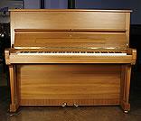 Walnut,  Steinway Model V Upright Piano For Sale