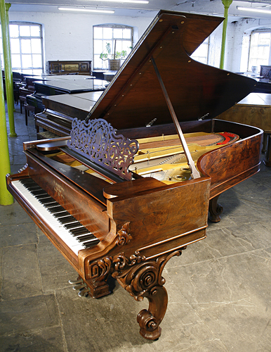Antique, Steinway concert grand piano for sale.