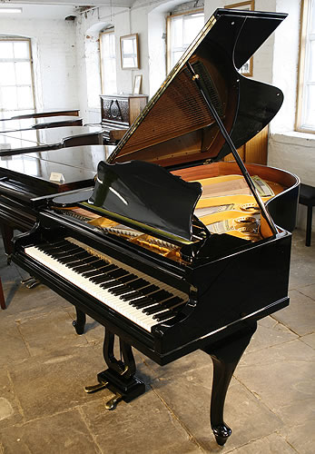 Bechstein Model A grand Piano for sale with cabriole legs.