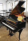 Restored Bechstein Model A  Grand Piano  For Sale with a Black case and Cabriole Legs