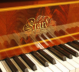 Erard Grand Piano For Sale With An Inlaid Mahogany Case