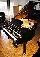 Fazioli F156 Grand Piano  with a black case and polyester finish