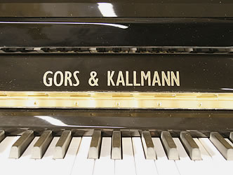 Gors and Kallmann XU26A Upright Piano for sale.