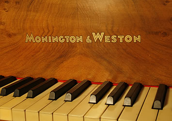 Monington and Weston Baby Grand Piano for sale. We are looking for Steinway pianos any age or condition.