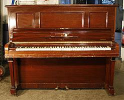 Mahogany,  Steinway Model K Upright  Piano For Sale