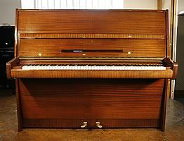 Mahogany, Steinway Model V Upright  Piano For Sale