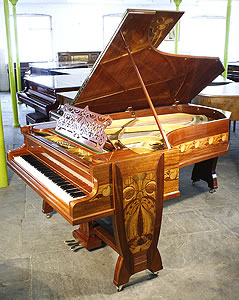 Gutermann, art nouveau, Bechstein Model C Grand Piano