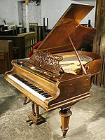 Antique Bechstein Model V Grand Piano For Sale with a rosewood case