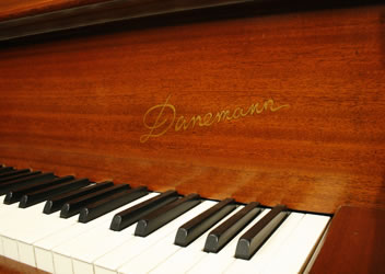 Danemann  Concert Grand Piano for sale. We are looking for Steinway pianos any age or condition.