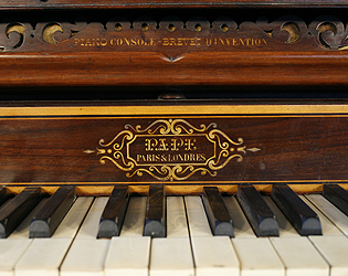 Henri Pape Upright Piano for sale.