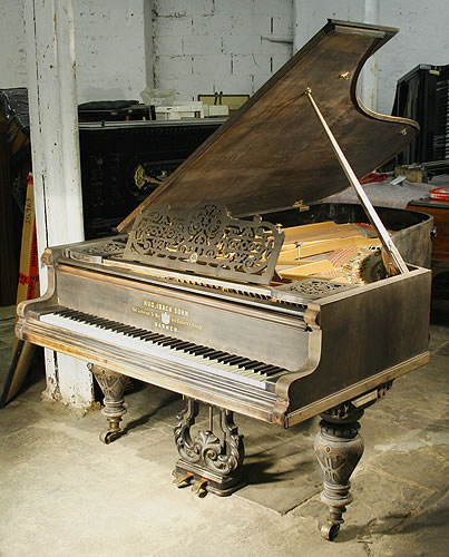 Ibach richard wagner grand piano for sale with a black for Big grand piano