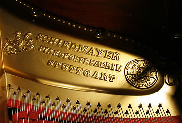Schiedmayer manufacturers stamp on frame