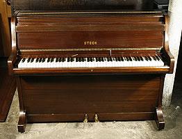 Steck upright piano