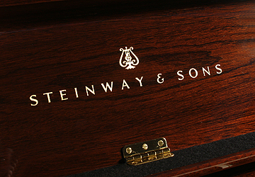 Steinway Model K upright Piano for sale.
