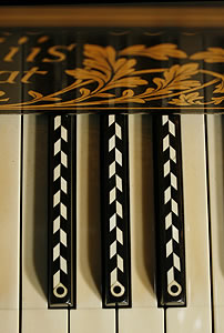 Inlaid Broadwood  Grand Piano for sale.