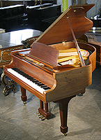 Samick Grand Piano For Sale with a walnut case