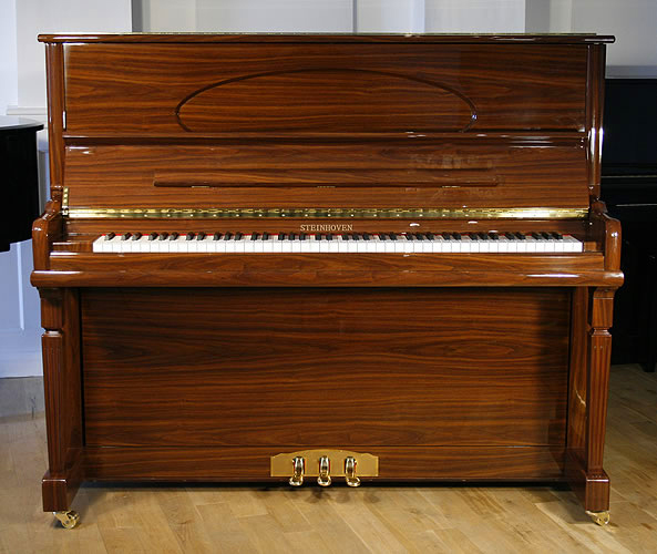 Steinhoven model 128 upright Piano for sale.