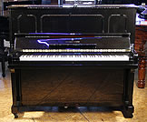 Black,  Steinway Model K Upright Piano For Sale