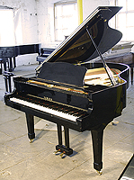 Pre-owned Yamaha C3 Grand Piano For Sale with a black case