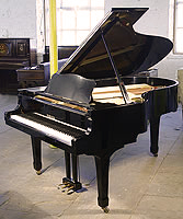 Pre-owned Yamaha C5 Conservatory Grand Piano For Sale with a black case