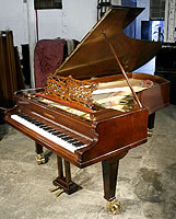 Bechstein Model D Grand Piano For Sale with a rosewood case