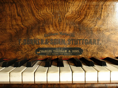 Dorner  Grand Piano for sale. We are looking for Steinway pianos any age or condition.
