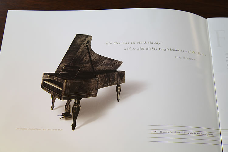 Steinway catalogue