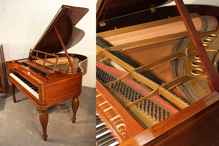 Biedermeier style, Steinway Model M grand piano