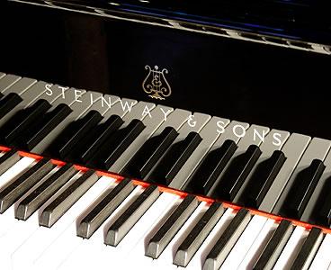Rebuilt, Steinway Model O Grand Piano