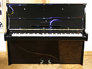 Black,  Steinway Model V Upright Piano For Sale