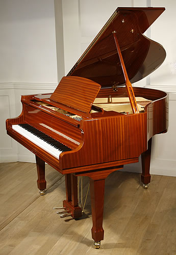 Toyo na148 baby grand piano for sale with a mahogany case for How big is a grand piano