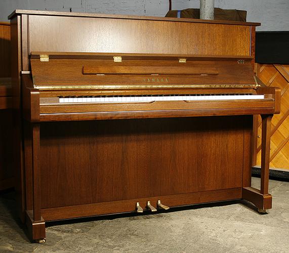 Yamaha u1n upright piano for sale with a satin mahogany for Yamaha piano dealers