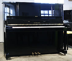 Modern Yamaha YUX Upright Piano For Sale