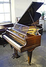 A Bechstein Model L grand piano for sale with a mahogany case
