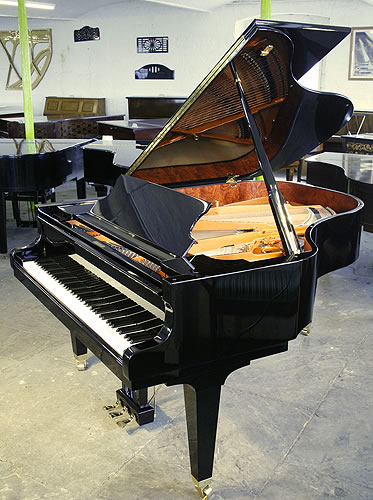 A schimmel k189 grand piano for sale with a black case for Big grand piano