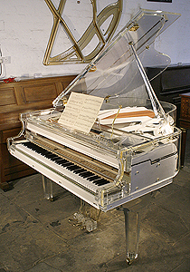Acrylic, Steinhoven Transparent, Baby Grand Piano