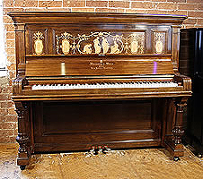 Steinway upright piano