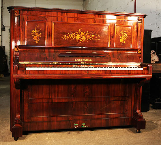 Antique, Bechstein upright Piano for sale.