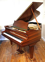 Bechstein Model K Baby Grand Piano For Sale with a mahogany case