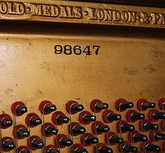 Broadwood piano serial number