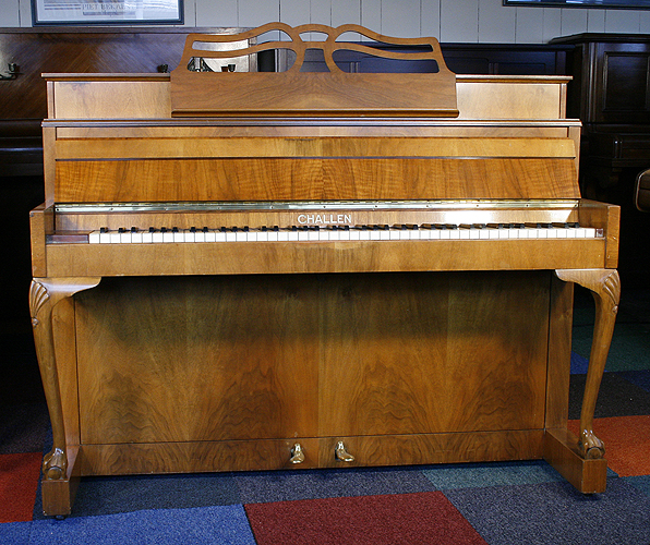 Challen Cottage upright Piano for sale.