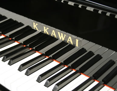 Kawai Gm10 Baby Grand Piano For Sale With A Black Case