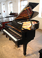 Miki Model 5 Grand Piano For Sale with a black case