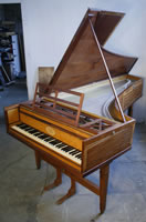 Dennis Woolley pianoforte For Sale