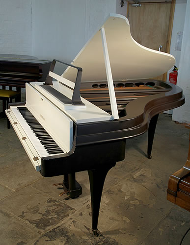Rippen grand piano for sale with a painted aluminium case for How big is a grand piano